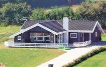 Ferienhaus in Lavensby Strand für 8 Personen