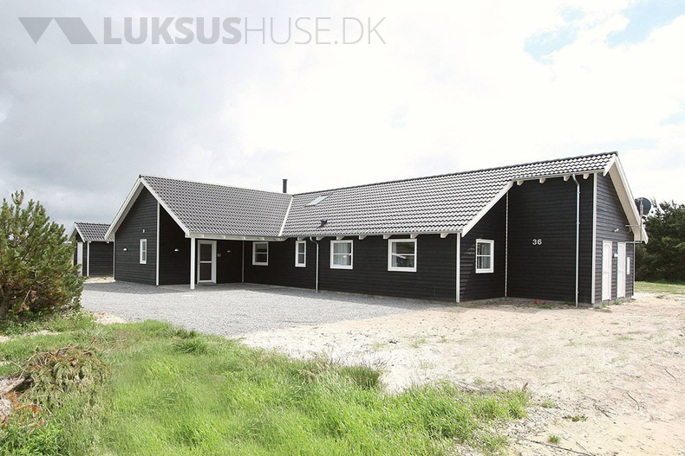 Ferienhaus in Vejers Strand für 24 Personen