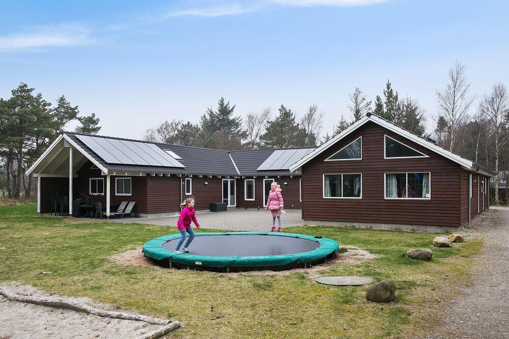 Ferienhaus in Blavand, Ho für 24 Personen