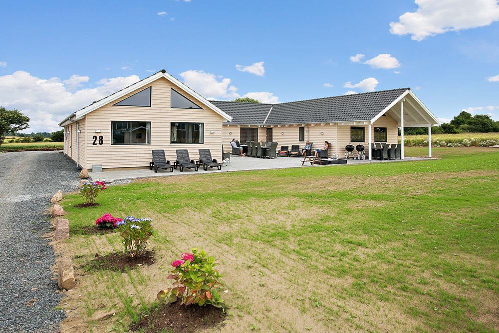 Ferienhaus in Skastrup strand für 22 Personen