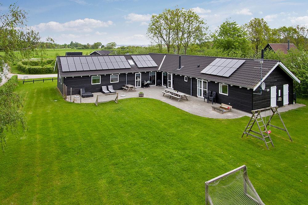 Ferienhaus in Ebeltoft für 18 Personen