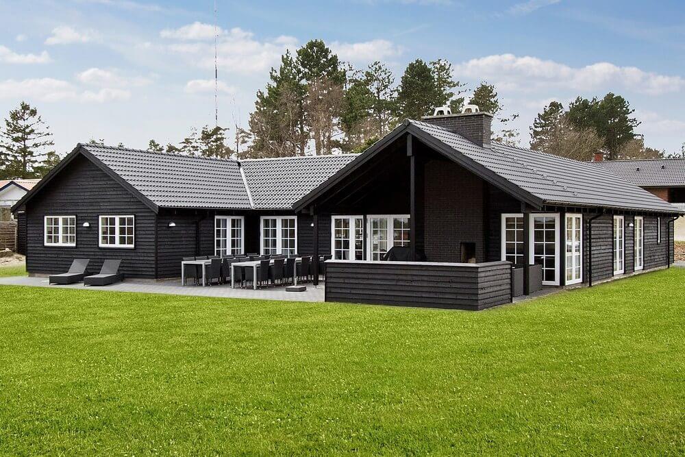Luxusferienhaus mit Pool in Ebeltoft
