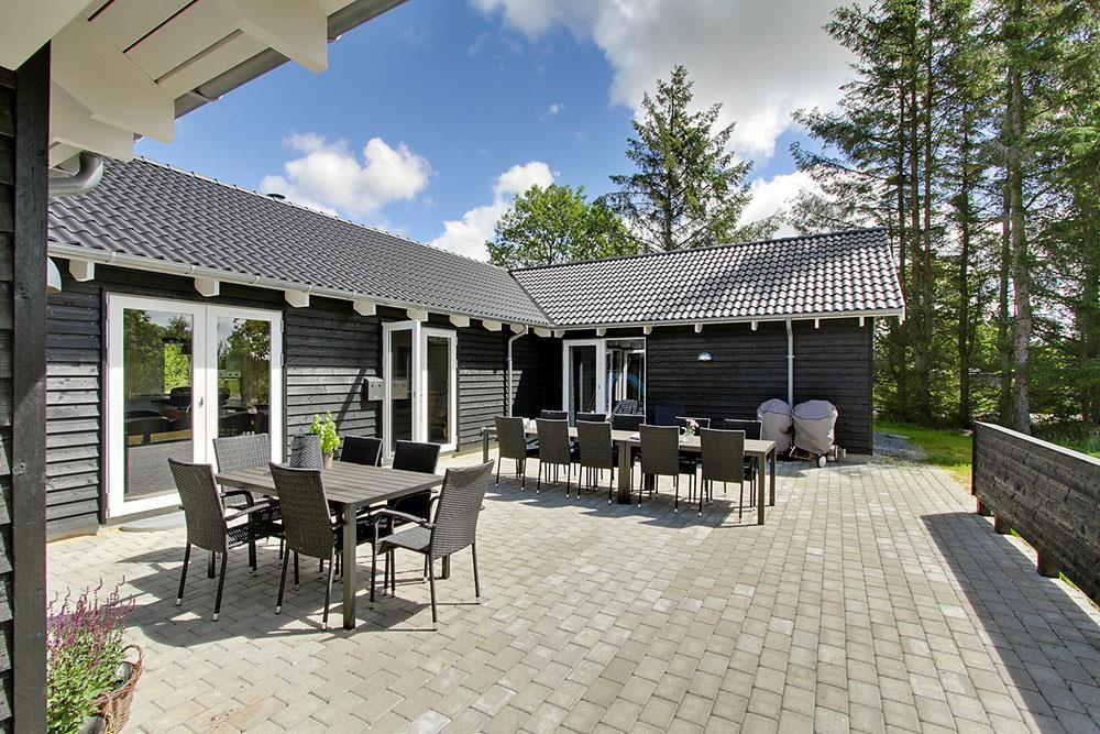 Ferienhaus in Henne Strand für 24 Personen