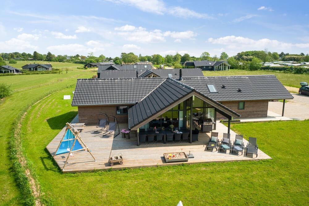 Ferienhaus in Saksild für 12 Personen