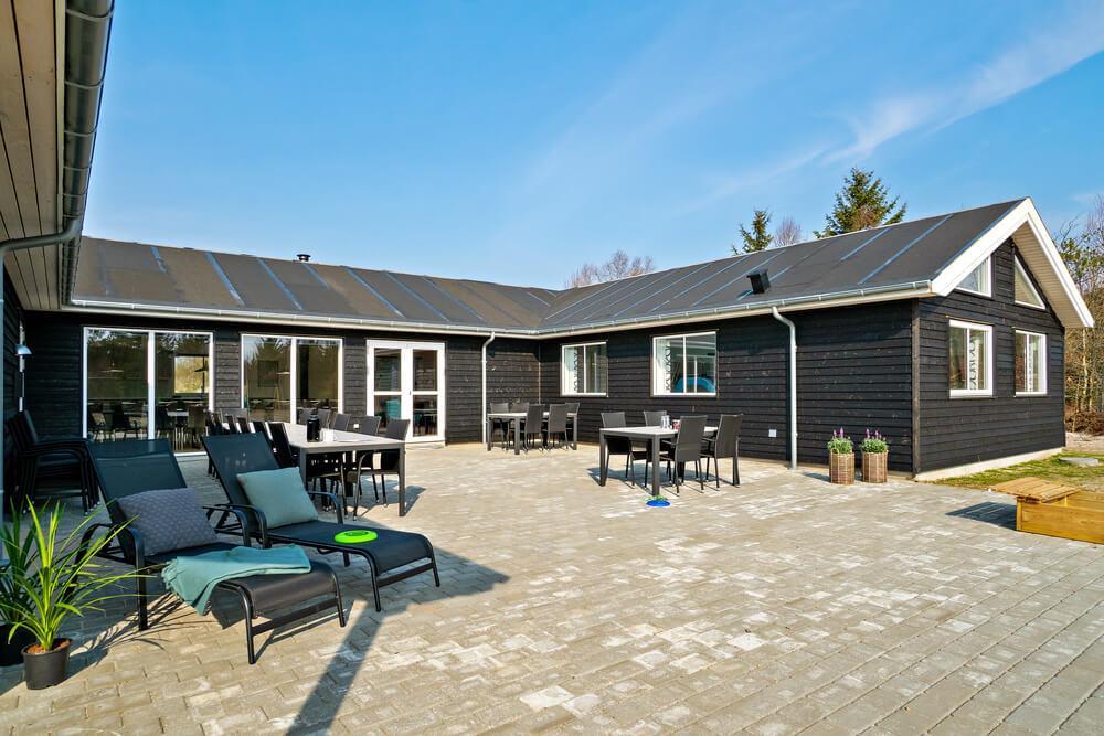 Ferienhaus in Albäk für 24 Personen