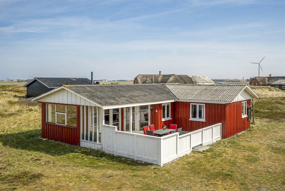 Ferienhaus in Harboör für 8 Personen