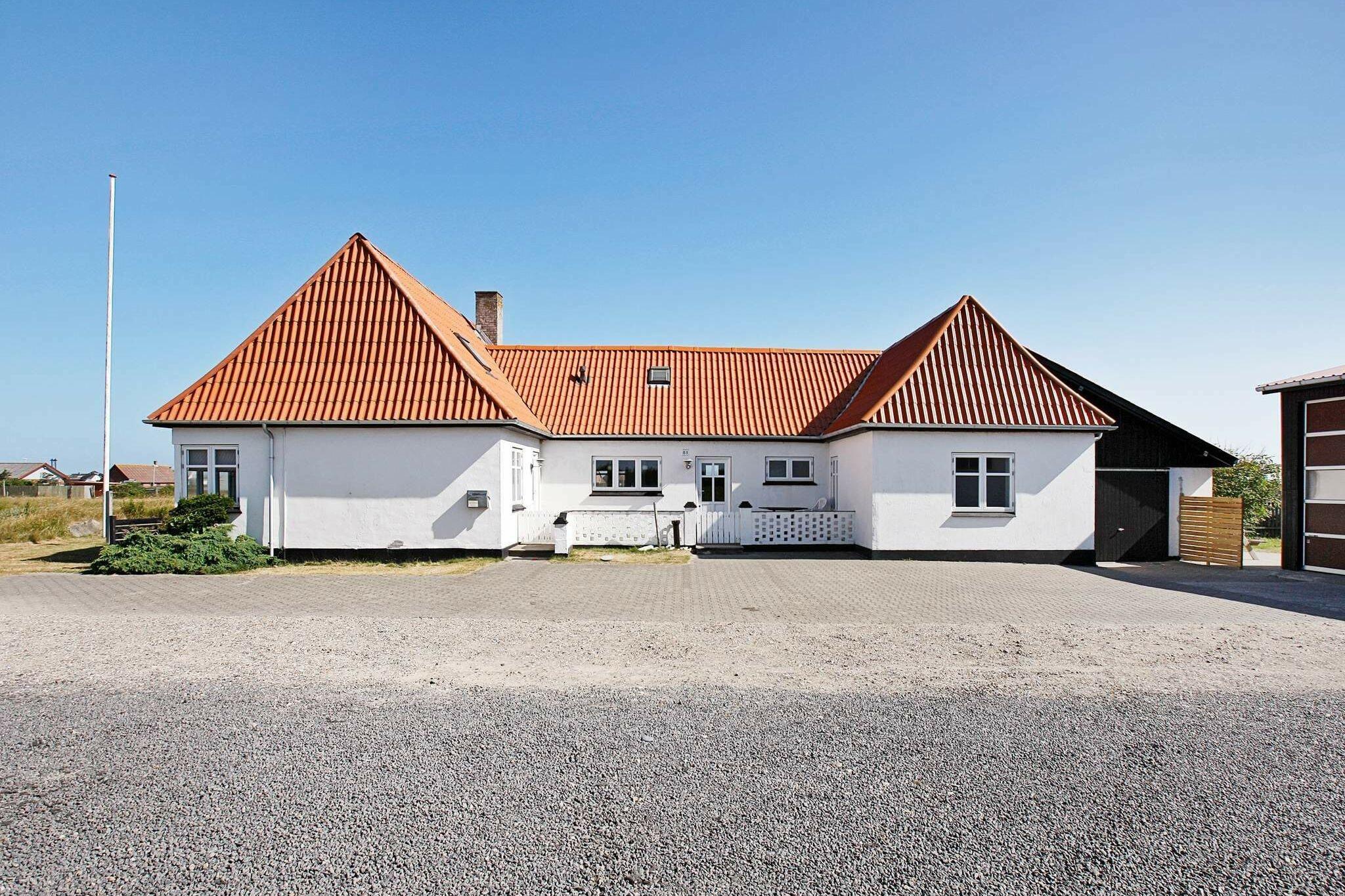 Ferienhaus in Harboöre für 17 Personen