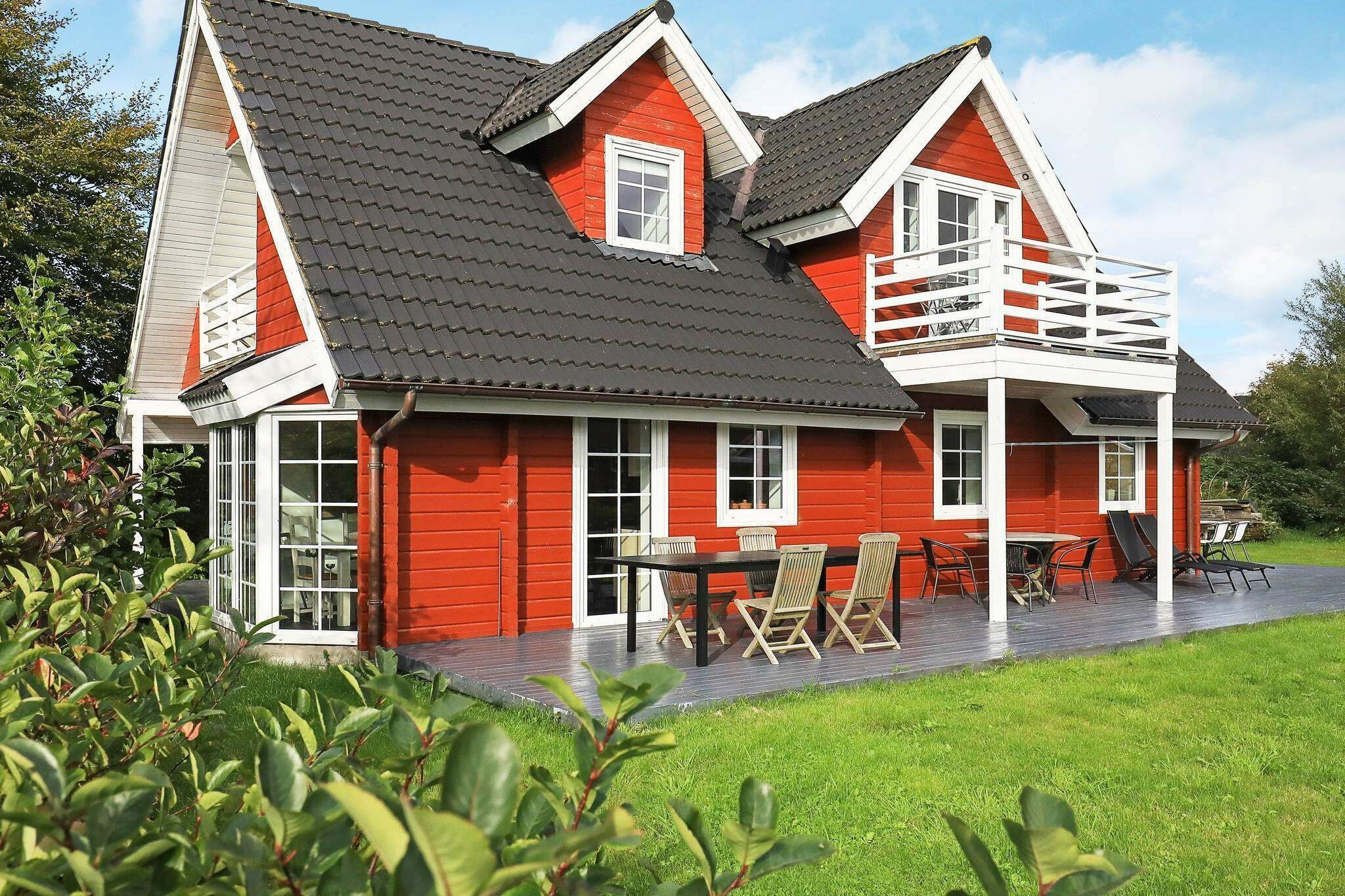 Ferienhaus in Albäk für 11 Personen