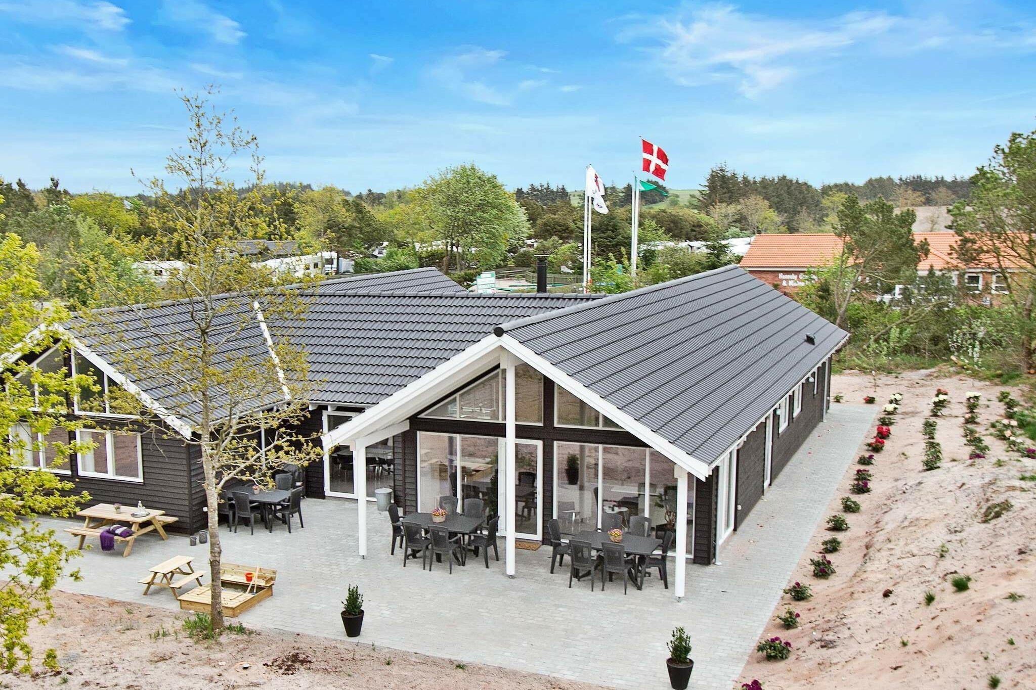 Ferienhaus in Henne für 18 Personen