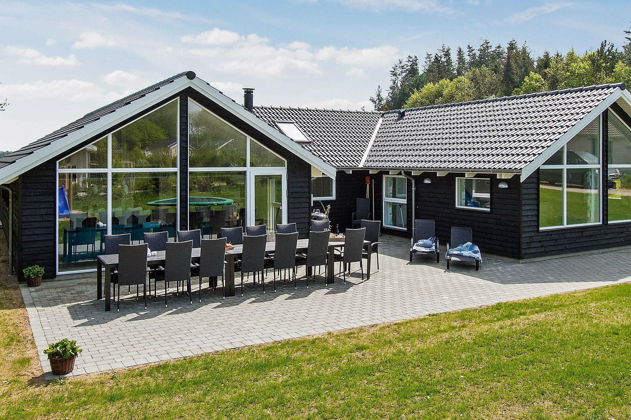 Ferienhaus in Glesborg für 14 Personen