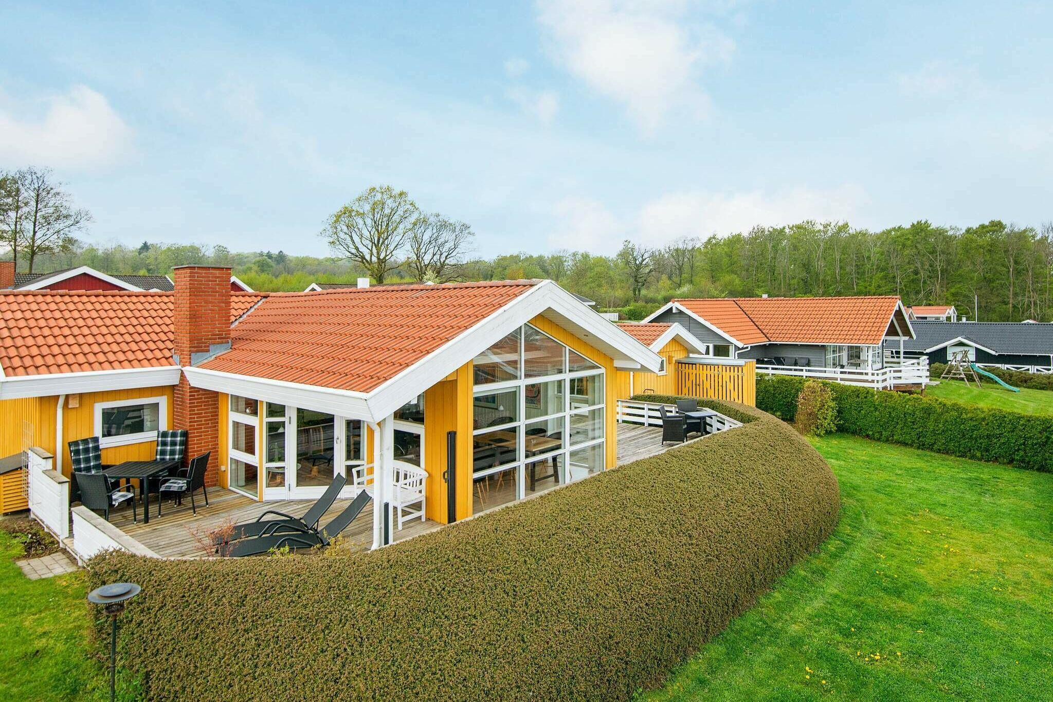 Ferienhaus in Sjölund für 8 Personen