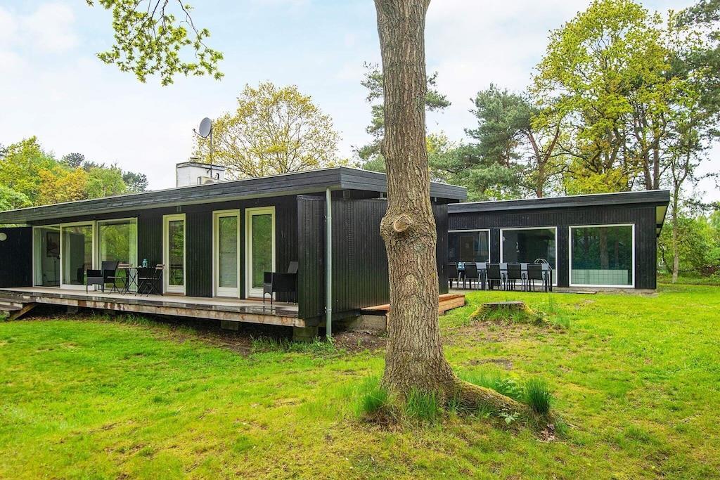 Ferienhaus in Knebel für 10 Personen
