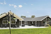 Ferienhaus in Frederiksvärk für 24 Personen
