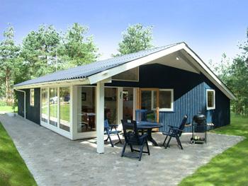 Ferienhaus in Ebeltoft für 8 Personen