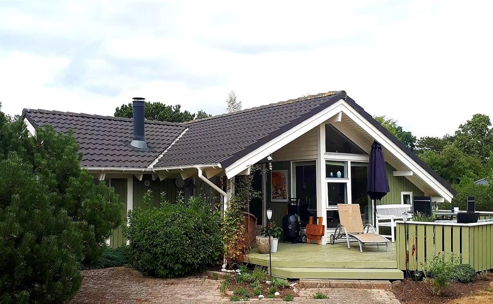 Ferienhaus in Höve Strand für 6 Personen