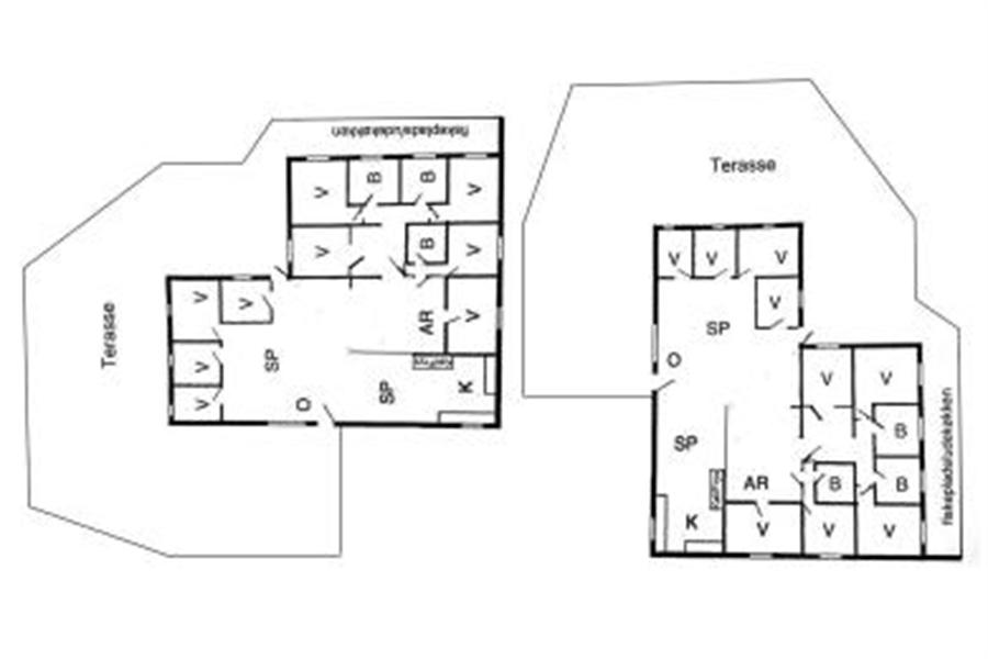 Ferienhaus in Truust für 24 Personen